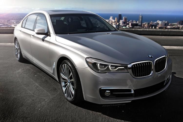 2016 BMW 7 Series New Rendering