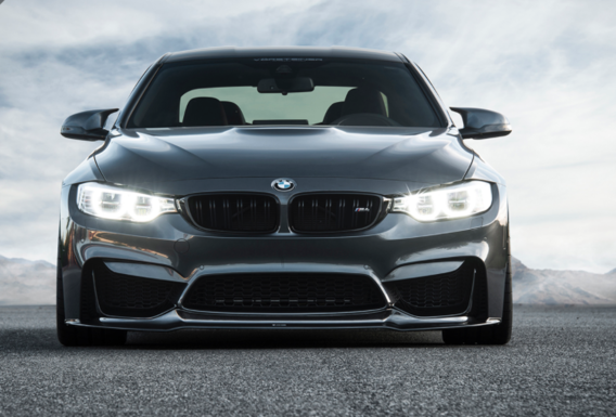 Mineral Gray Metallic BMW M4 By Vorsteiner