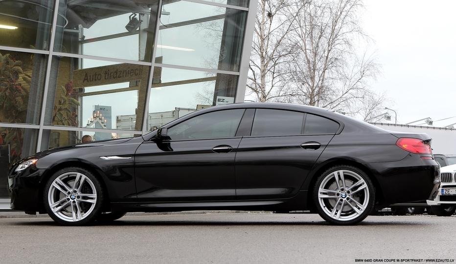 BMW 640D GRAN COUPE MSPORTPAKET  EZ AUTO