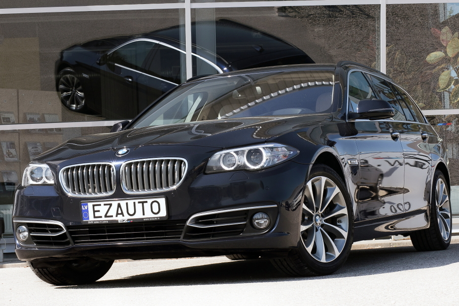 Bmw 530d F 11 Facelift X Drive Blue Performance Modern Line Touring