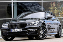 BMW 740D G11 3.0D 320ZS M-SPORTPAKET PERFORMANCE BOWERS & WILKINS FOND ENTERTAINMENT X-DRIVE