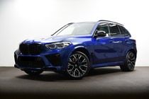 BMW X5M F95 COMPETITION 625ZS SKY LOUNGE BOWERS&WILKINS INDIVIDUAL WARRANTY