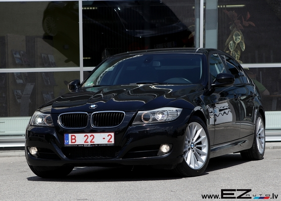 bmw 318d facelift e90 ez auto. Black Bedroom Furniture Sets. Home Design Ideas