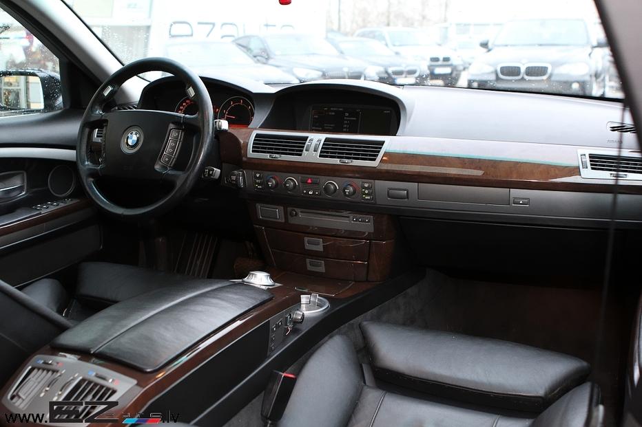 bmw 730d sportpaket e65 ez auto. Black Bedroom Furniture Sets. Home Design Ideas
