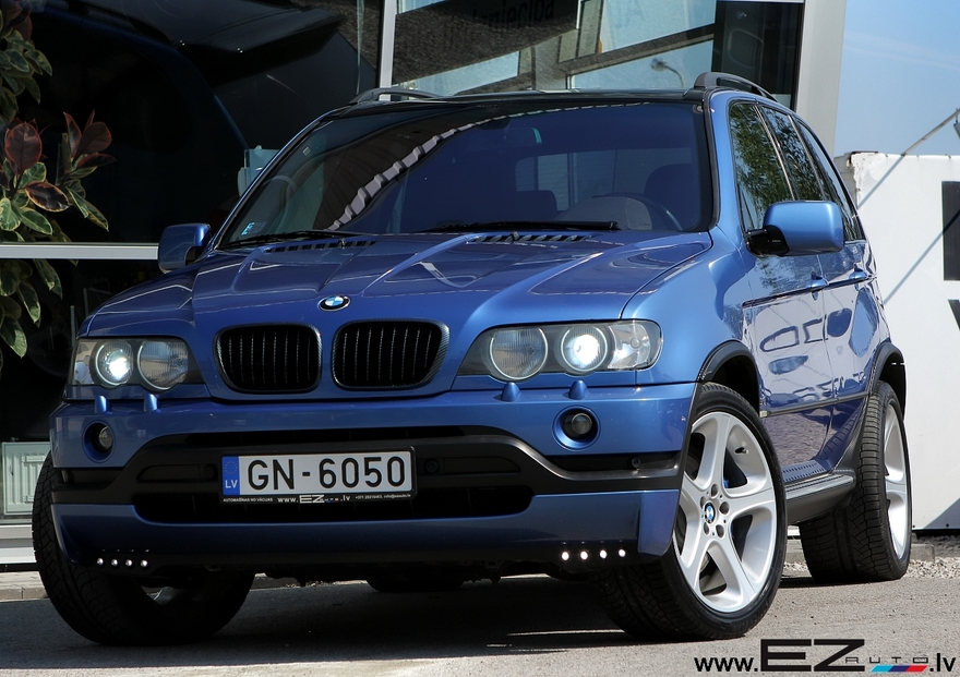 Bmw X5 4 6is Estoril Blau Ez Auto