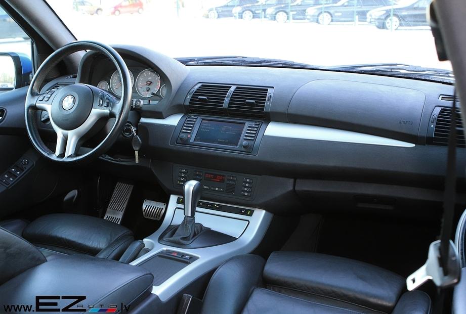 BMW X5 4.6iS ESTORIL BLAU | EZ AUTO