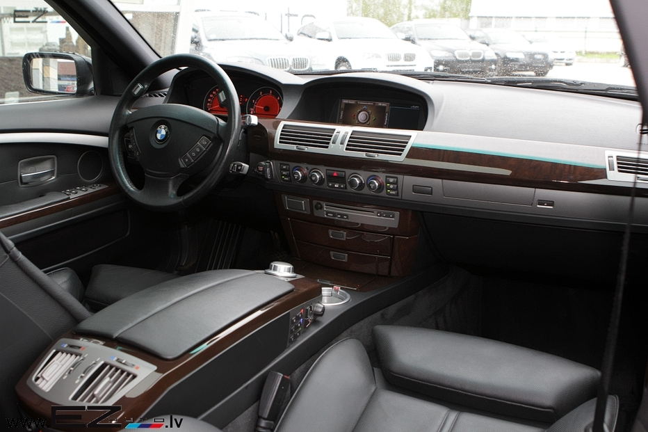 Bmw 730d sportpaket e65 ez auto for Bmw serie 7 interieur