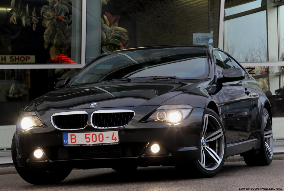 Bmw 630i Coupe Ez Auto